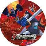 miniatura Mazinger Z Dvd 02 Custom Por Ronald Arevalo cover cd