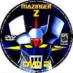 miniatura Mazinger Z Dvd 02 Custom V2 Por Christenergy cover cd