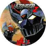 miniatura Mazinger Z Dvd 03 Custom Por Ronald Arevalo cover cd