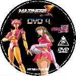 miniatura Mazinger Z Dvd 04 Custom V2 Por Christenergy cover cd