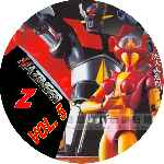 miniatura Mazinger Z Dvd 05 Custom Por Ronald Arevalo cover cd