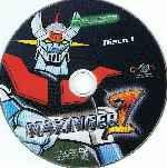 miniatura Mazinger Z Remasterizada Volumen 04 Disco 01 Por Titoproducciones cover cd