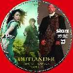 miniatura Outlander Temporada 01 Disco 05 Custom Por Tinchomon cover cd