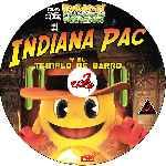 miniatura Pac Man Y Las Aventuras Fantasmales Indiana Pac Y El Templo De Barro Custom Por Corsariogris cover cd