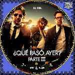 miniatura Que Paso Ayer Parte Iii Custom V3 Por Vistahermosa2270 cover cd