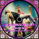 miniatura Que Paso Ayer Parte Iii Custom V4 Por Richardtex cover cd