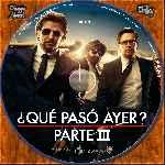 miniatura Que Paso Ayer Parte Iii Custom V6 Por Tota22 cover cd