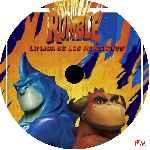 miniatura Rumble La Liga De Los Monstruos Custom Por Darckman20100 cover cd