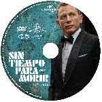 miniatura Sin Tiempo Para Morir 2020 Custom V3 Por Kal Noc cover cd