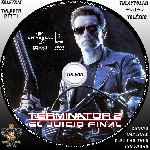 miniatura Terminator 2 El Juicio Final Custom V2 Por Trimol cover cd