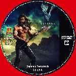 miniatura Vikingos Temporada 02 Disco 03 Custom Por Tinchomon cover cd