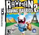 miniatura Rayman Raving Rabbids 2 Frontal Por Bytop74 cover ds