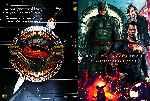 miniatura Batman V Superman El Amanecer De La Justicia Custom V5 Por Morgandexter cover dvd