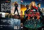 miniatura Capitana Marvel Custom Por Franvilla cover dvd
