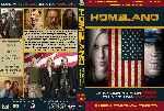 miniatura Homeland Temporada 01 Custom V2 Por Roro95 cover dvd