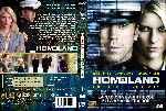 miniatura Homeland Temporada 01 Custom V3 Por Analfabetix cover dvd