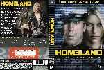 miniatura Homeland Temporada 01 Custom V4 Por Darioarg cover dvd