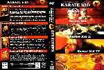 miniatura Karate Kid 1984 Quatrilogia Custom Por Frances cover dvd