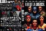 miniatura Liga De La Justicia 2017 Custom V3 Por Kal Noc cover dvd