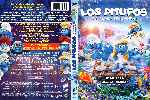 miniatura Los Pitufos La Aldea Escondida Por Ogiser cover dvd