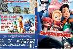 miniatura Los Superheroes Custom Por Maq Corte cover dvd