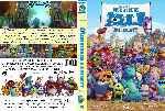 miniatura Monstruos University Custom Por Chechelin cover dvd