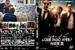 miniatura Que Paso Ayer Parte Iii Custom V2 Por Kal Noc cover dvd