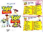 miniatura Toy Story 01 02 Inlay Por Warcond cover dvd