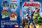 miniatura Ultimate Avengers La Pelicula Custom Por Darthdux cover dvd