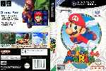miniatura Super Mario 64 Dvd Custom V2 Por 3571 cover gc