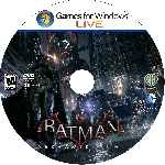 miniatura Batman Arkham Knight Cd Custom Por Angel Vengador cover pc