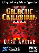 miniatura Galactic Civilizations 2 Dark Avatar Frontal Por Sosavar cover pc