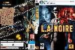 miniatura L A Noire Dvd Custom V3 Por Fernilla cover pc