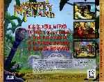 miniatura La Fuga De Monkey Island Trasera Por Makser cover pc