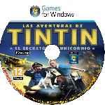 miniatura Las Aventuras De Tintin El Secreto Del Unicornio Cd Custom Por Jesuslg1 cover pc