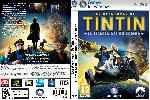 miniatura Las Aventuras De Tintin El Secreto Del Unicornio Dvd Custom V2 Por Inoxpc cover pc