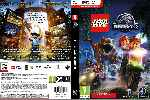 miniatura Lego Jurassic World Dvd Custom Por Shamo cover pc