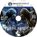 miniatura Mortal Kombat X Cd Custom Por Angel Vengador cover pc