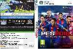 miniatura Pro Evolution Soccer 2018 Dvd V2 Por Shamo cover pc