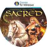 miniatura Sacred La Leyenda Del Arma Sagrada Cd Custom Por Uliseth cover pc