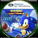 miniatura Sonic Lost World Cd Custom Por Jpabloldu cover pc