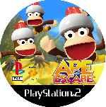 miniatura Ape Escape 2 Cd Custom Por Mierdareado cover ps2