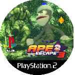 miniatura Ape Escape 3 Cd Custom V3 Por Mierdareado cover ps2