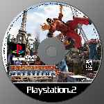 miniatura Backyard Wrestling 2 There Goes The Neighborhood Cd Custom Por Bobmar cover ps2