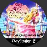 miniatura Barbie In The 12 Dancing Princesses Cd Custom Por Queleimporta cover ps2