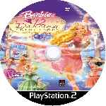 miniatura Barbie In The 12 Dancing Princesses Cd Custom V2 Por Amarillo5 cover ps2