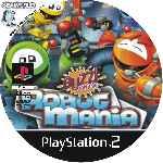 miniatura Buzz Junior Robot Mania Cd Custom Por Seaworld cover ps2