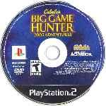 miniatura Cabelas Big Game Hunter 2005 Adventures Cd Por Seaworld cover ps2