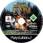 miniatura Cabelas Big Game Hunter 2008 Cd Custom Por Estre11a cover ps2