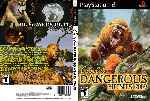 miniatura Cabelas Dangerous Hunts 2009 Dvd Custom Por Fresha cover ps2